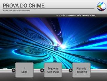 PROVA DO CRIME