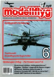 Traditionellt: _ - Modellflygnytt på nätet