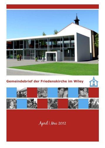 April | Mai 2012 - Friedenskirche Neu-Ulm