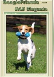 Hundehalsband mit Zugstopp - BeagleFriends - DAS Magazin