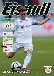 FC Zürich – FC St.Gallen