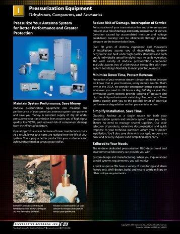 Pressurization Equipment - Electronics Research, Inc.