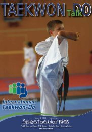 PLUS: Kids are Class • TKD Games • Kicks for Kids • Growing Pains ...