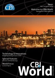 News Welcome to CB&I World Technology & Innovations Special ...
