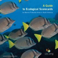 A Guide to Ecological Scorecards for Marine Protected Areas in ...