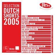 Selected Dutch Shorts 2005 - Holland Film