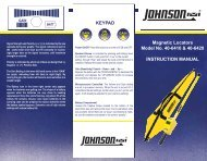 40-6410-English - Johnson Level