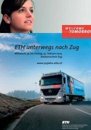 ETH unterwegs nach Zug - 150 Jahre ETH Zürich