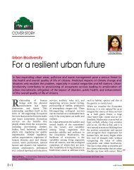 For a resilient urban future - Center for Urban Green Spaces