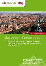 European Conference - CO2-NeutrAlp