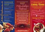 Karfreitags- - Menü-Restaurant und Landhotel Ludwig Thoma ...