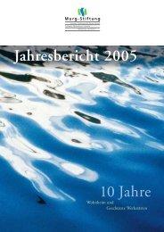 Jahresbericht Murg-Stiftung 2005
