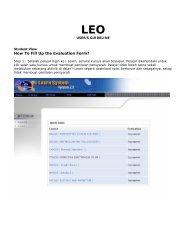 LEO - i-Learn Portal – UiTM e-Learning Portal