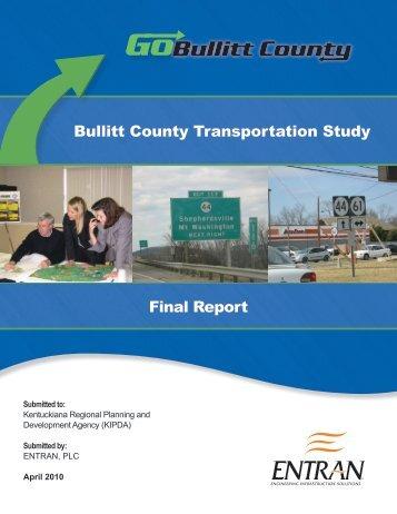 Bullitt County Transportation Study Final Report - Kipda