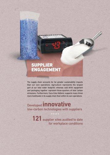 121supplier - Coca-Cola Hellenic Social Responsibility Report 2010