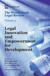 The World Bank Legal Review - Cebrap