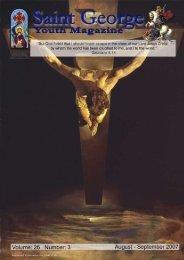 August-September 2007 - Saint George Coptic Orthodox Church ...