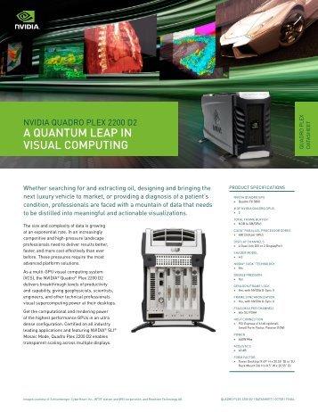 A QUANTUM LEAP IN VISUAL COMPUTING