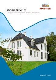 Stogo plėvelės - Monier ekonomiški ir paprasti ... - Stogdengiai.lt