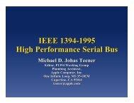 IEEE 1394-1995 High Performance Serial Bus