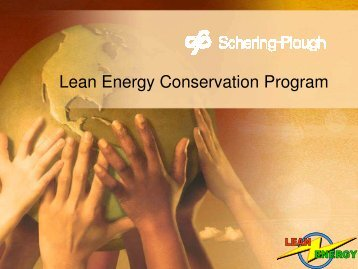 Lean Energy Conservation Program
