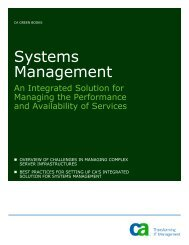 Systems Management - SupportConnect