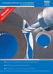 Hardmetalen stiftfrezen met vertanding INOX - PFERD