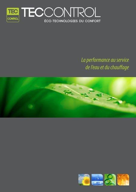 La performance au service de l'eau et du chauffage - TecControl