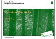 1224 kB, PDF - im St.Galler Wald - Kanton St.Gallen