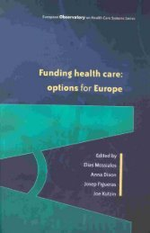 Funding health care - World Health Organization Regional Office for ...