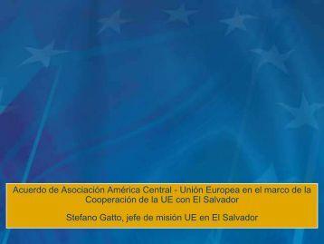 Presentación de D. Stefano Gatto - Cámara Oficial Española de ...