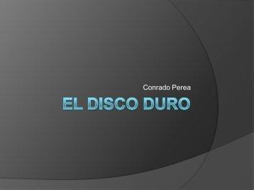 EL DISCO DURO