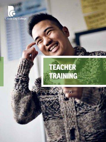teacher training - Leeds City College