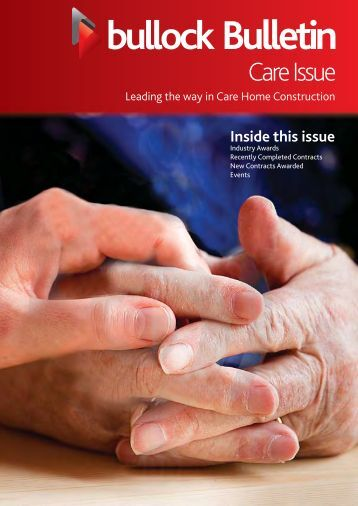 July 2012 Newsletter - Care Issue - Bullock Construction