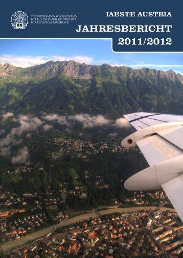 JAHRESBERICHT 2011/2012 - IAESTE Austria