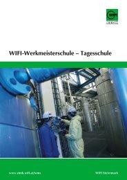 Wifi-Werkmeisterschule -; Tagesschule - WIFI Steiermark