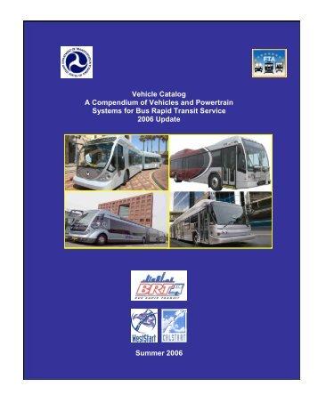BRT Vehicle Catalog - the National Bus Rapid Transit Institute