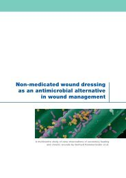 Non-medicated wound dressing as an antimicrobial ... - Cutimed