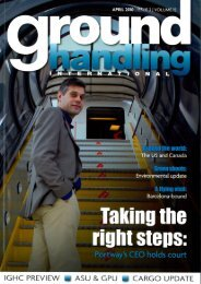 April 2010 Interview Andreas Funk Contrac / Ground Handling