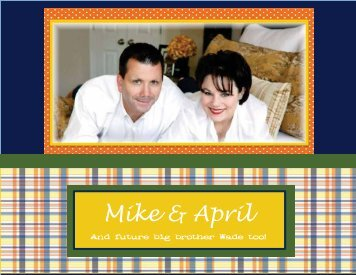 Mike & April - The Adoption Alliance
