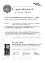 3. Kreativ-Wettbewerb - Deutsche Messe