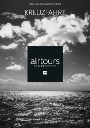 AIRTOURS - Preisteil - 2010/2011 - tui.com - Onlinekatalog