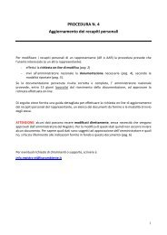 Procedura - Info-ets.isprambiente.it