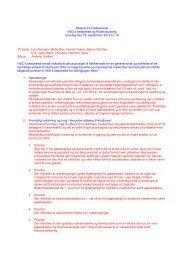 Indkaldelse til bestyrelsesmøde - Haderslev Sejl Club