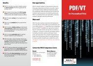 PDF/VT leaflet