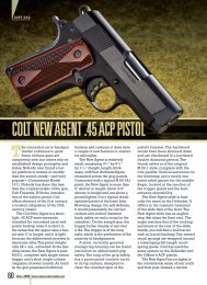 COLT NEW AGENT .45 ACP PISTOL - American Rifleman