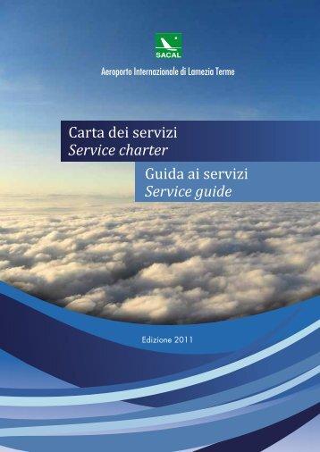 Service guide - Aeroporto di Lamezia Terme