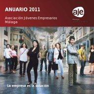 ANUARIO 2011 - Asociación de Jóvenes Empresarios