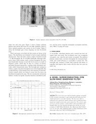 a novel superconducting cpw slow-wave bandpass filter - Heptacube