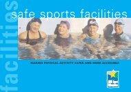 safe sports facilities - Australian Sports Commission